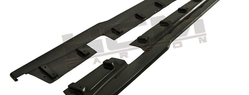 2007 - 2016 GTR Carbon Fiber Side Extensions