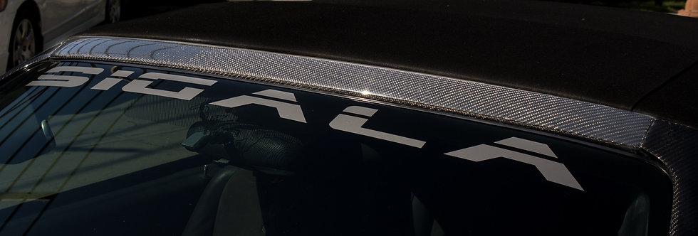 1999 - 2004 Mustang Carbon Fiber Top Windshield Molding