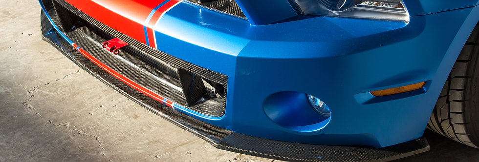 2010 - 2014 Mustang GT500 Style Carbon Fiber Front Lip