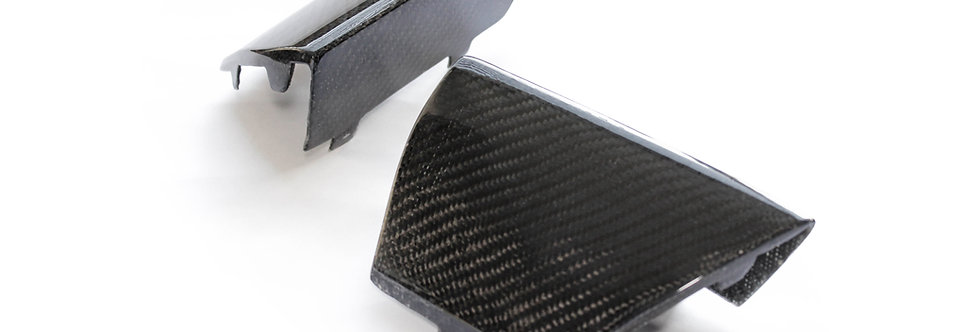 2015 - 2017 GT350 Style Radiator Opening Moldings