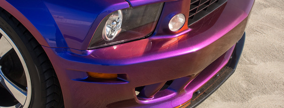 2005 - 2009 Mustang Saleen Style Carbon Fiber Front Splitter