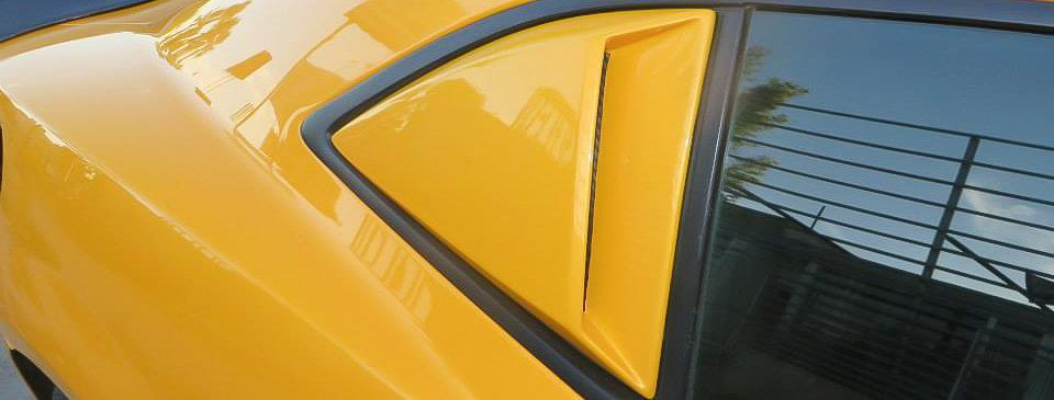 2010 - 2015 Camaro Fiberglass Windows Scoops