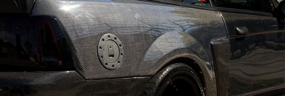 1999 - 2004 Mustang Carbon Fiber Convertible Quarter Panels