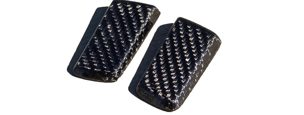 2005 - 2009 Mustang Saleen Style Carbon Fiber Spoiler Moldings