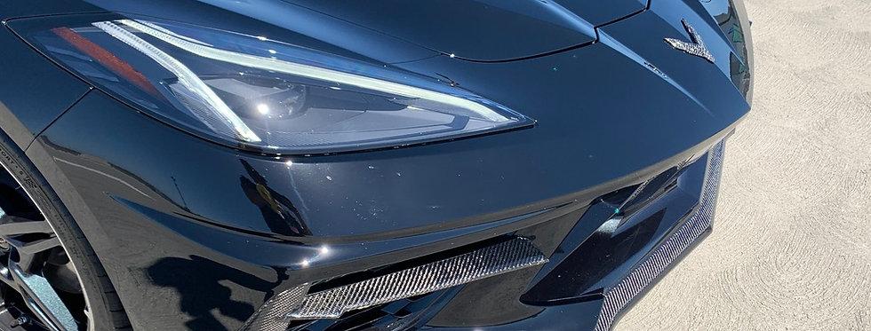 2020+ Corvette C8 Z51 OEM Style Carbon Fiber Front Splitter