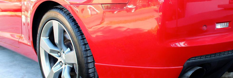 2010 - 2013 Chevy Camaro Fiberglass Rear Bumper Extensions