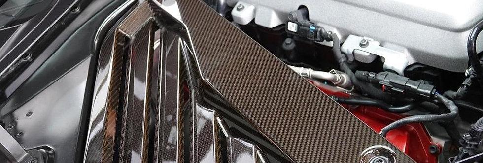2020+ Corvette C8 Carbon Fiber Engine Appearance Package