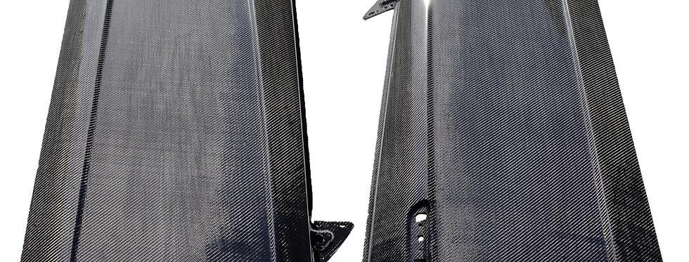 1999 - 2004 Mustang Carbon Fiber Doors