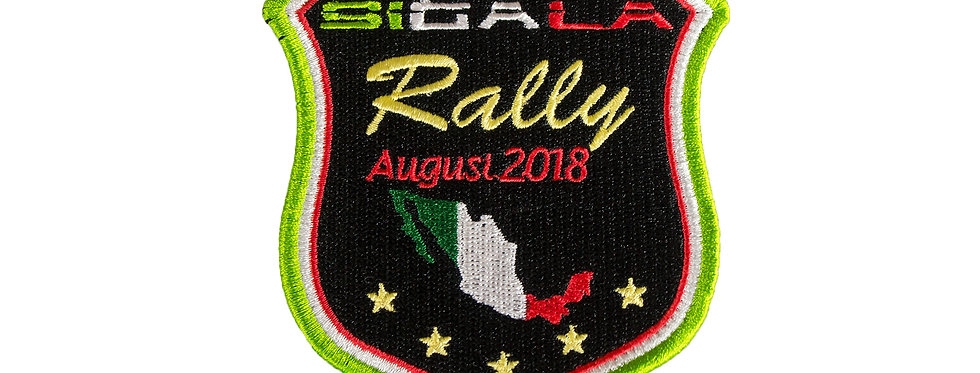 Sigala Rally Patch (2018 Edition)