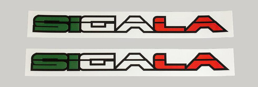 Sigala Window Stickers