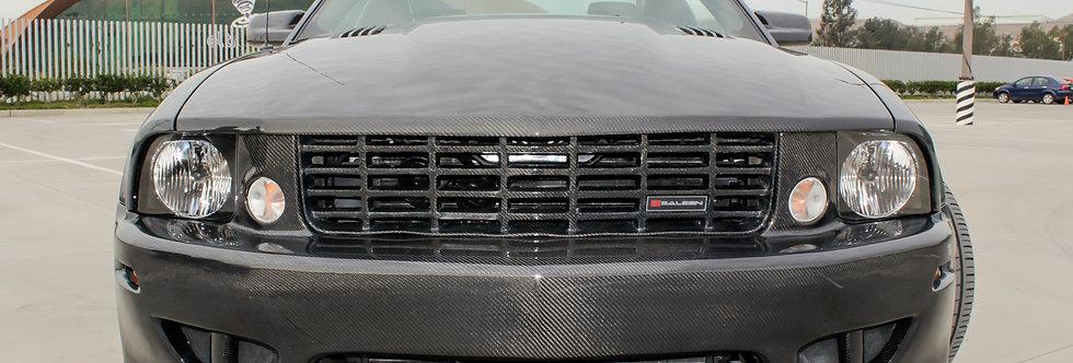 2005 - 2009 Mustang Saleen Style Carbon Fiber Front Bumper