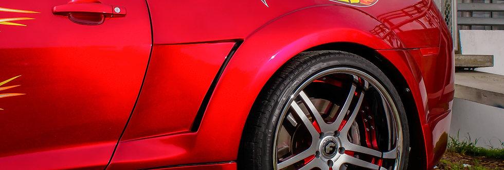 2010 - 2013 Camaro Hot Wheels Fiberglass 1/4 Panels