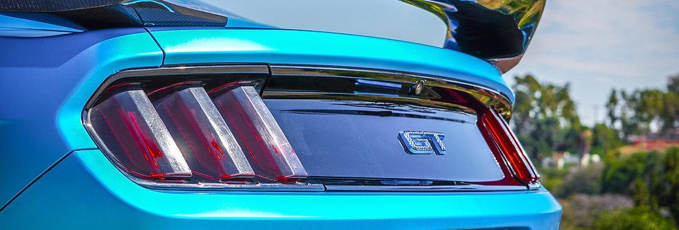 2015 - 2019 Mustang Carbon Fiber OEM Style GT350R Rear Spoiler