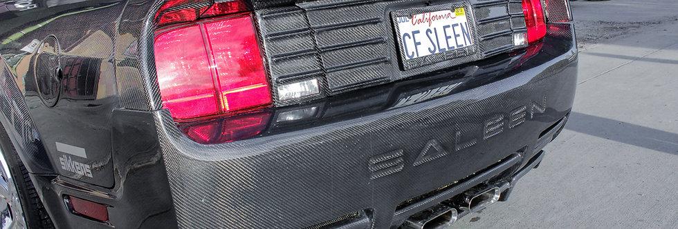 2005 - 2009 Mustang Saleen Style Carbon Fiber Rear Bumper