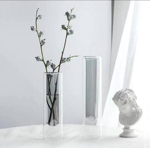 Gray Modern Flower Vase