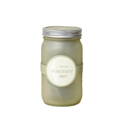 Rosemary Garden In A Jar
