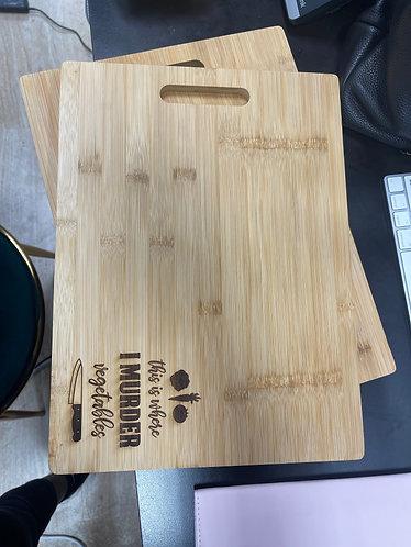 Stamped Cutting Board