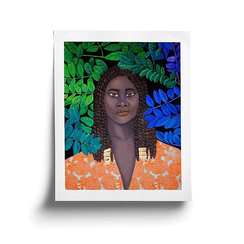 Small Monarch Portrait No.12