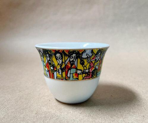 Ethiopian Sheba Set of 4 Coffeeware