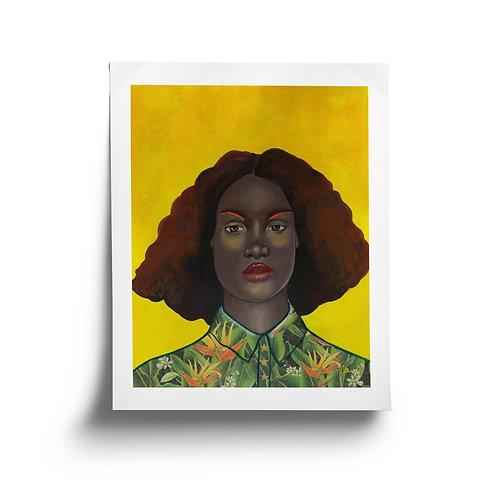 Large Monarch Portrait No.8