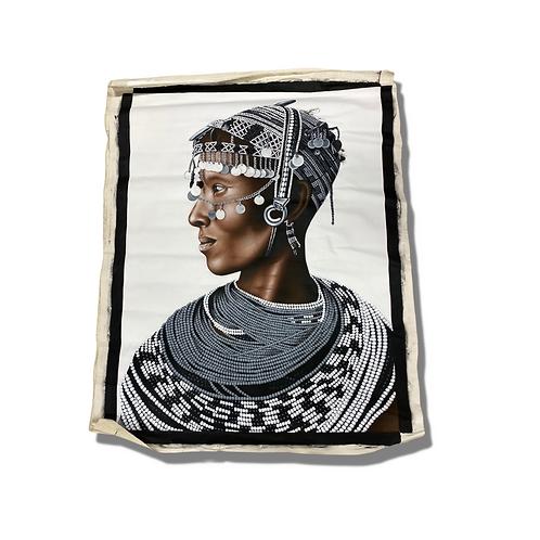 Elder Woman African Painting