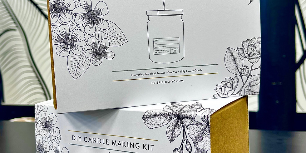 DIY Candle-Making Class hosted by Reisfield NYC