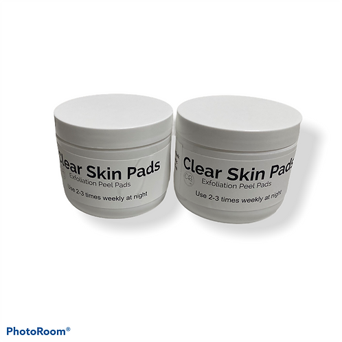 Clear Skin Pads