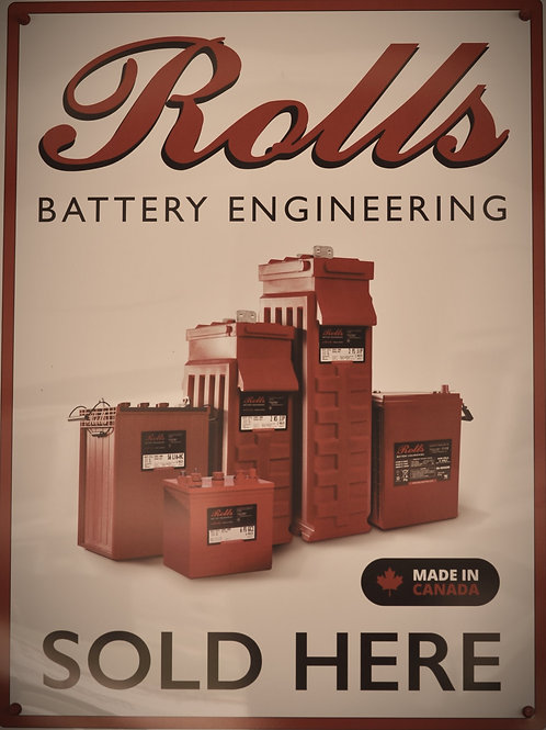 Rolls Brand Premium Deep Cycle Batteries