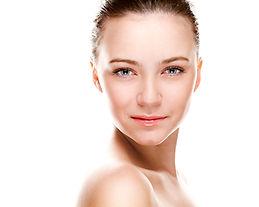 Modelo cuidado de la piel