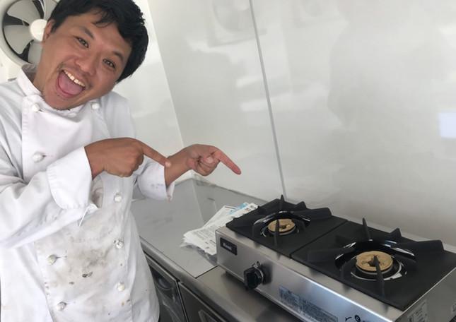 寿々グループ ミライズ キッチンカー コンロ.jpg