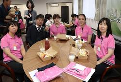 チャレンジドホーム寿々中村入社式