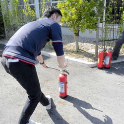 上志段味 消火訓練