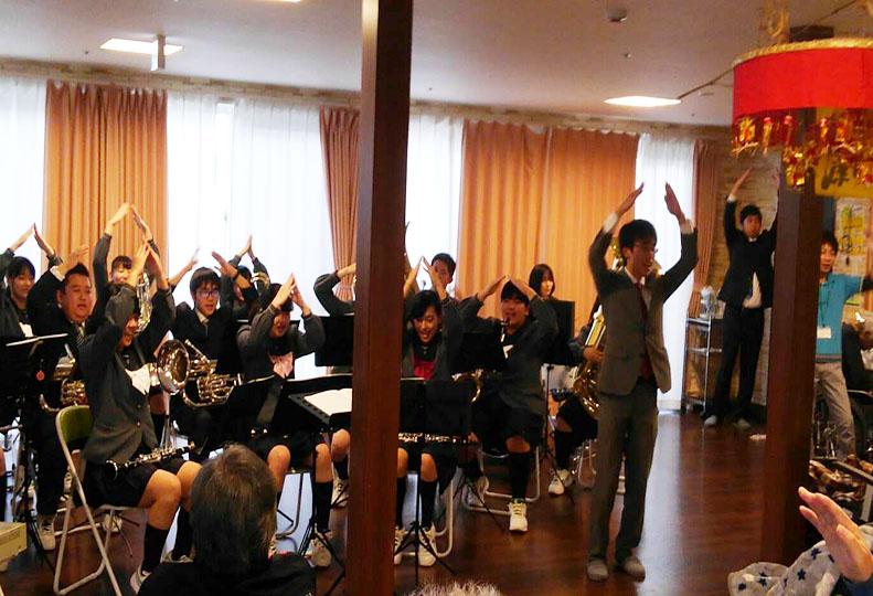 杜若高校 吹奏楽部 演奏会1
