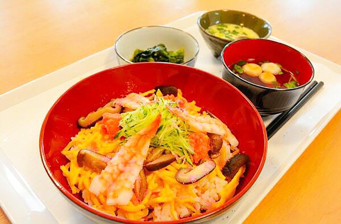 ナーシングホーム 寿々岩塚 イベント食