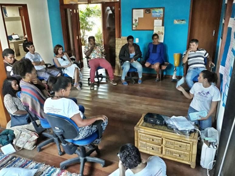 Comunitários do FCT se reúnem em reunião de planejamento em Paraty