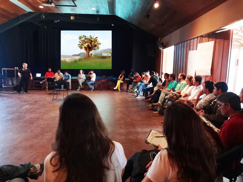 """Vídeo da campanha """"Preservar é Resistir"""" é exibido em reunião do Mosaico Bocaina"""