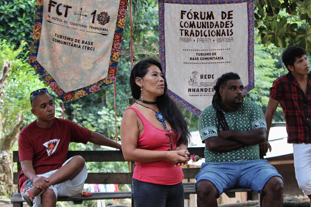 Eva Benite, liderança guarani