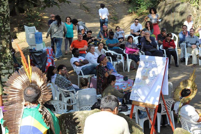 """Segundo dia do """"II Encontro de Justiça Socioambiental – Direitos Indígenas"""" mostra a fragilidade da"""