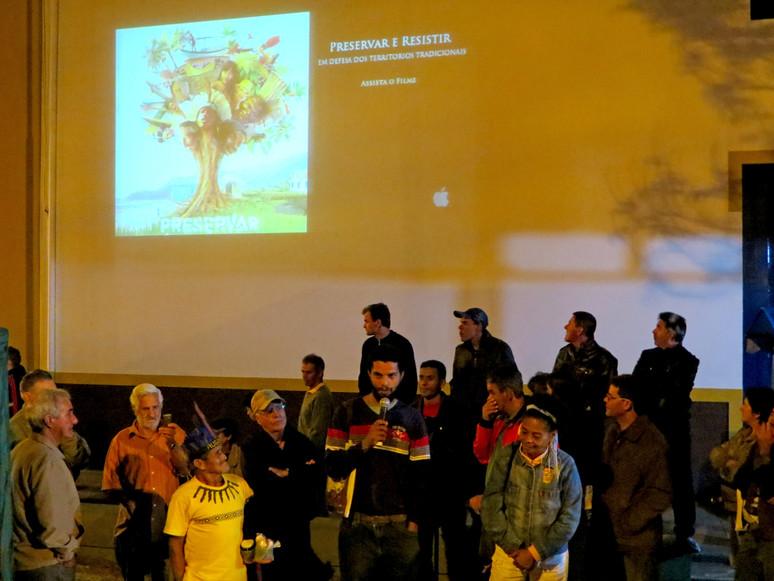 A Campanha Preservar é Resistir marca presença na IV Feira de Sementes Crioulas e Mudas de Cunha e r