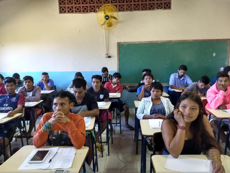 Luta histórica do povo guarani: magistério indígena é inaugurado em Angra dos Reis
