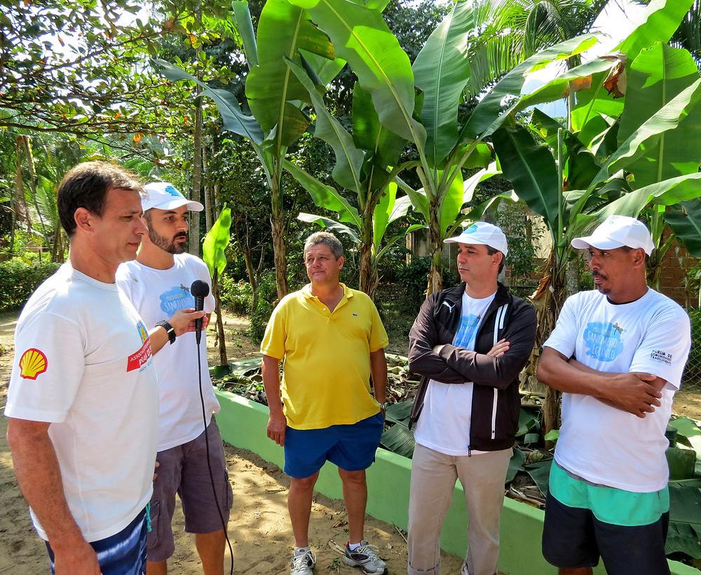 Preservar é Resistir - Inauguração Módulo Escola Saneamento Ecológico Sono