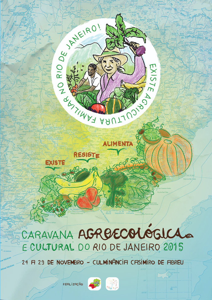 Caravana Agroecológica RJ - Rota Costa Verde