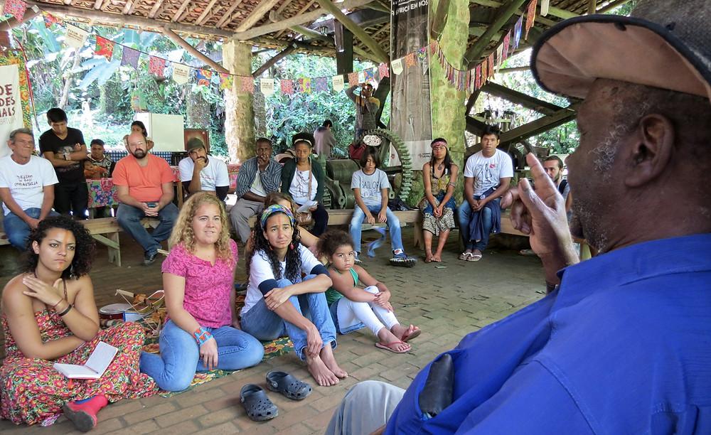 Preservar é Resistir - TBC Quilombo da Fazenda - Contação de história Zé Pedro