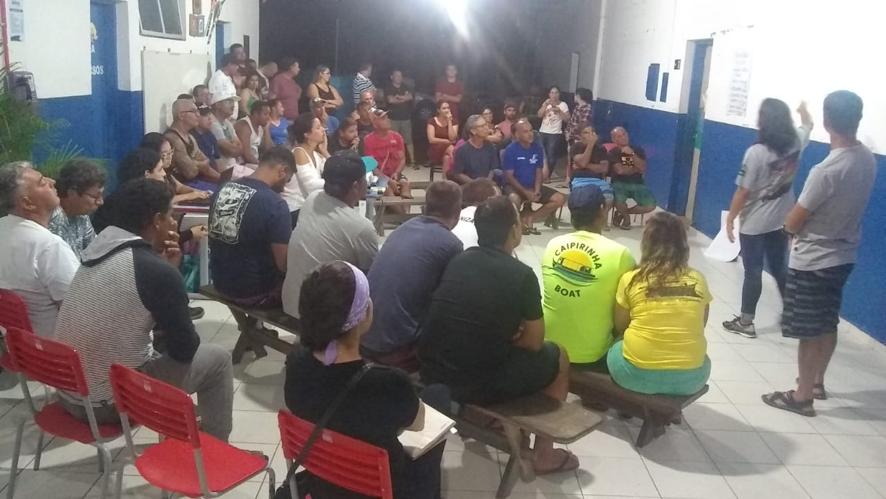 Reunião do GT-TBC-Picinguaba