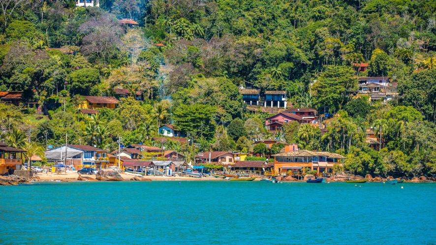 Vila de Picinguaba. Fonte: Deyves Martins, Ubatuba Guide