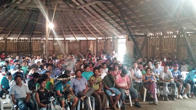 Lideranças indígenas do FCT participam da 7ª Assembleia da Comissão Guarani Yvyrupa