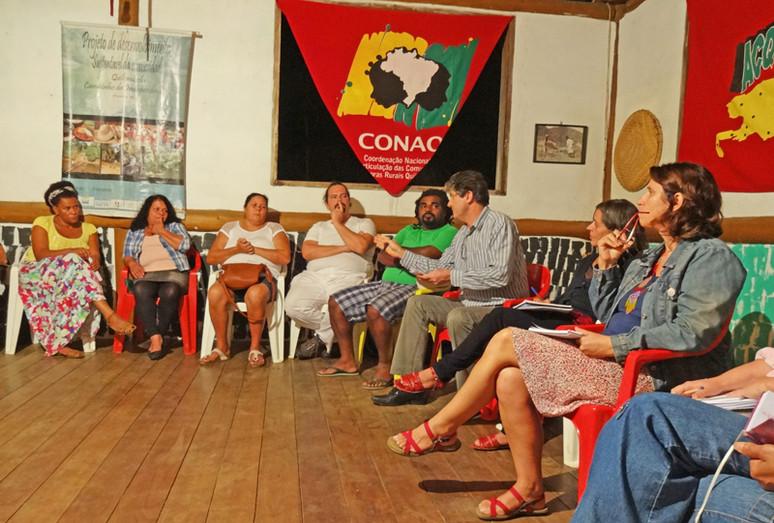 Fórum de Comunidades Tradicionais recebe Presidente do ICMBio Sr. Roberto Ricardo Vizentin para para