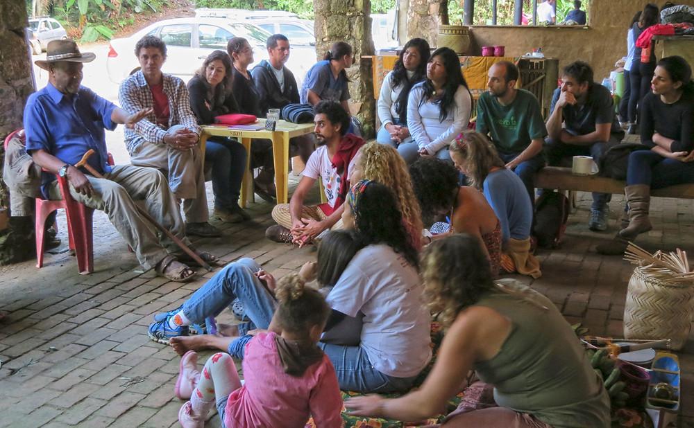 Preservar é Resistir - Roda de conversa seu Zé Fazenda