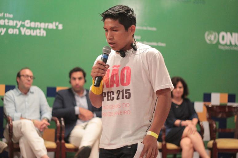 Juventude militante se reúne em evento da ONU