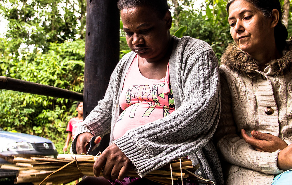 Preservar é Resistir - TBC Quilombo da Fazenda - Artesanato
